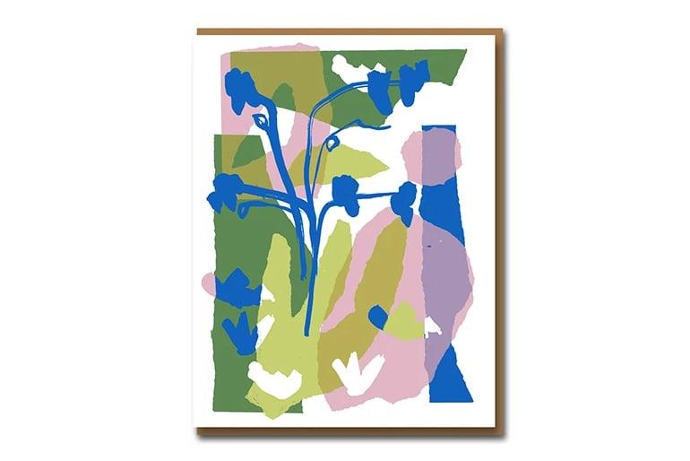 Image of Fridas Garden - Greetings Card