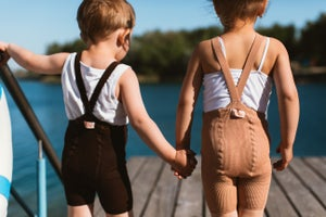 Image of Silly Silas Shorty Tights Light Brown