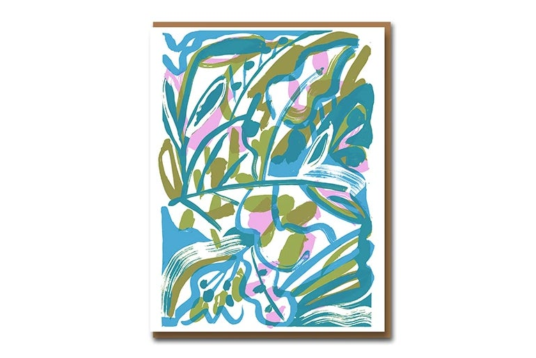Image of Ivan Hitchins Garden - Greetings Card