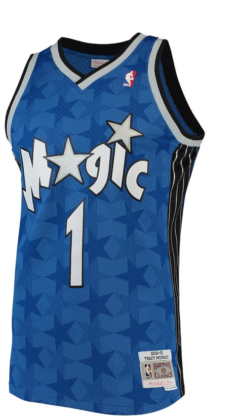 Image of Tracy McGrady magic jersey