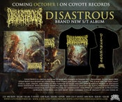 Image of DISASTROUS Disastrous CD+T-shirt Pre-Order!!!