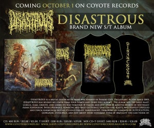 Image of DISASTROUS Disastrous CD+T-shirt