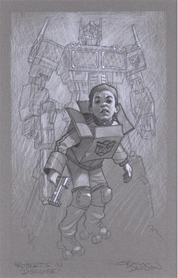 """Craig Davison """"Robert's In Disguise - Sketch"""""""