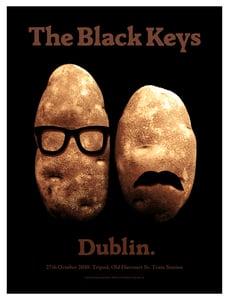 Image of The Black Keys poster Dublin 2010