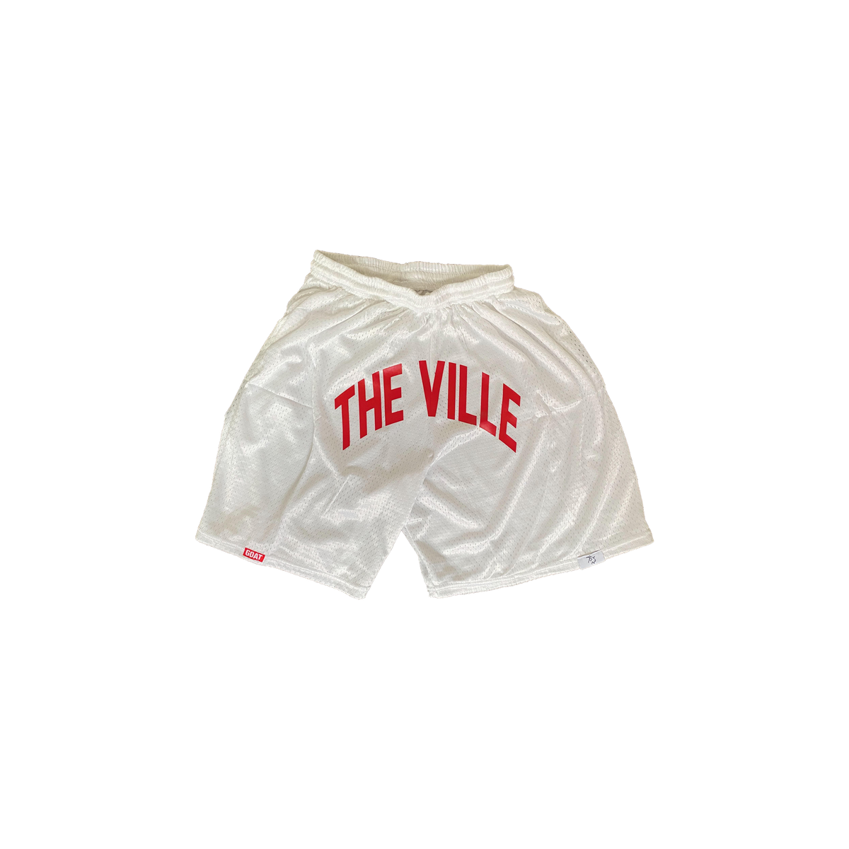 "Limited Edition White ""The Ville"" Cardinals Shorts"