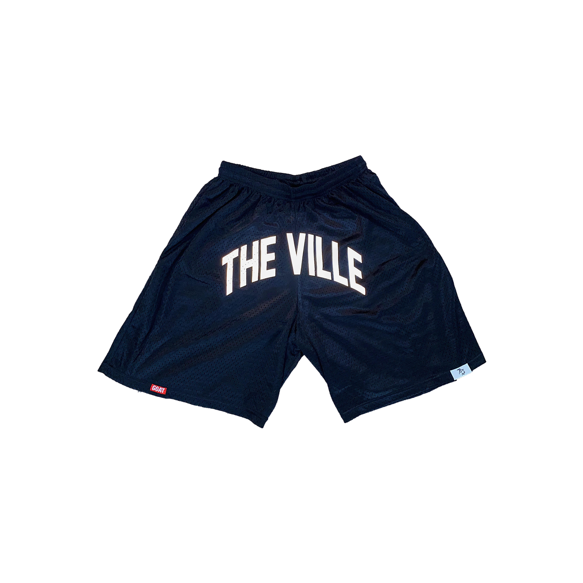 "Black ""The Ville"" Reflective Logo Cardinals Shorts"