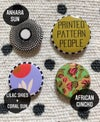 •agbe• pop buttons