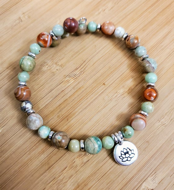 Image of Dragon Skin Agate Bracelet