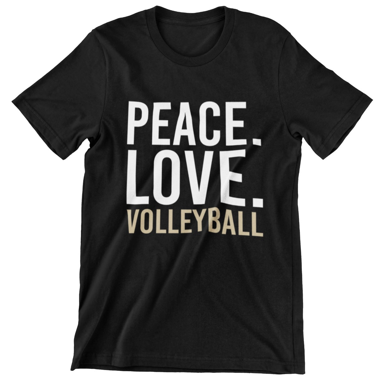 Image of Peach Love Volleyball Tee