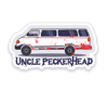 *PRE-SALE* - Uncle Peckerhead Van Sticker