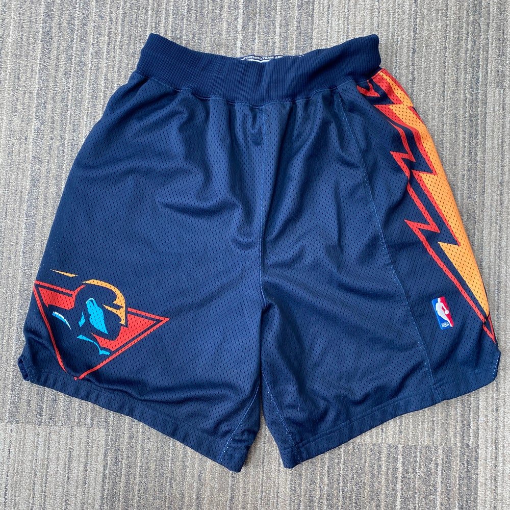 Image of Vintage Authentic Golden State Warriors Puma Shorts