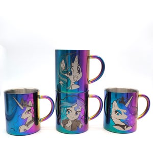 Double Walled Stainless Steel Mugs