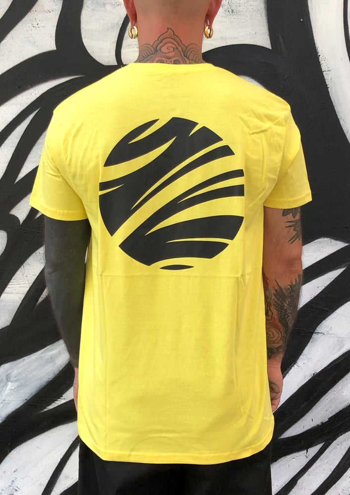 Image of Tribal logo Yellow t-shirt by Jota