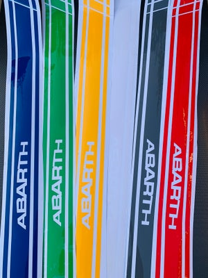 Image of ABARTH Door Card Stickers