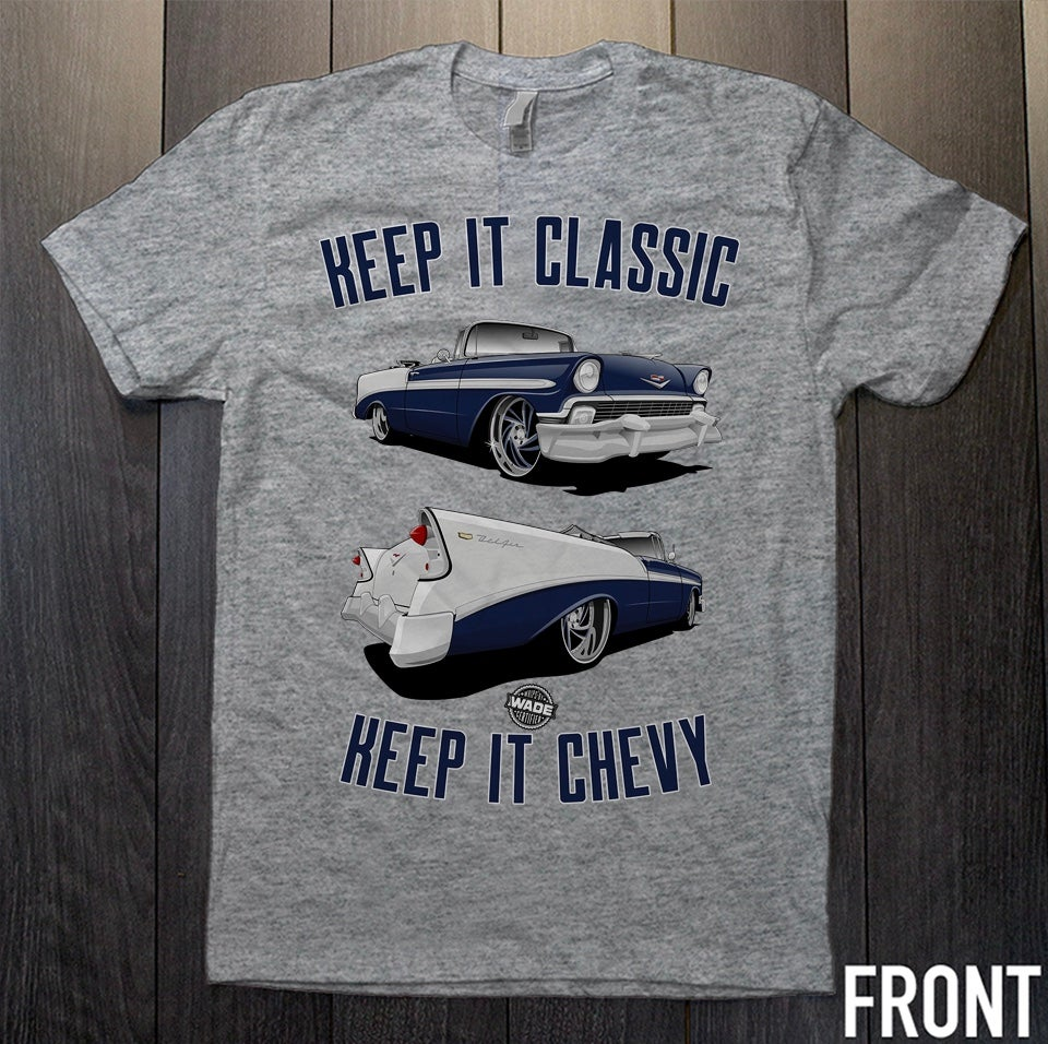 Image of Keep It Chevy : Chevy Bel Air Graphic Tee *PRE ORDER*