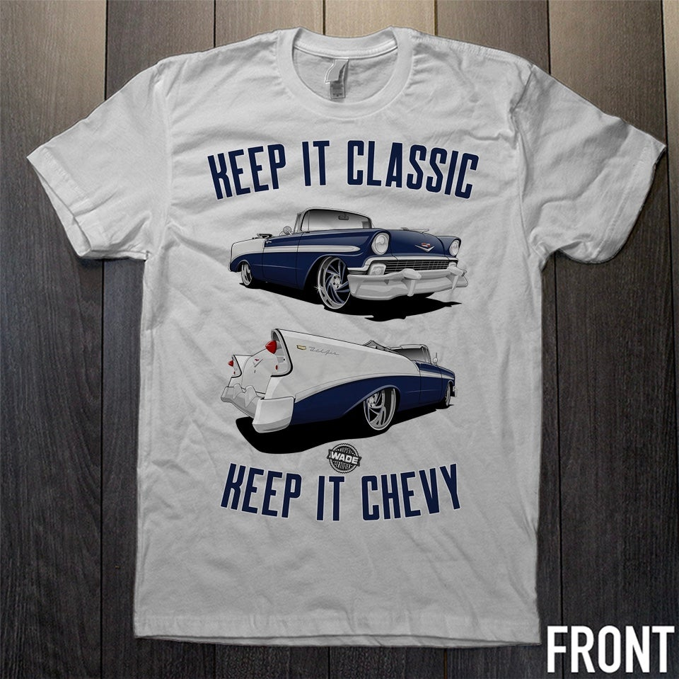 Keep It Chevy : Chevy Bel Air Graphic Tee *PRE ORDER*