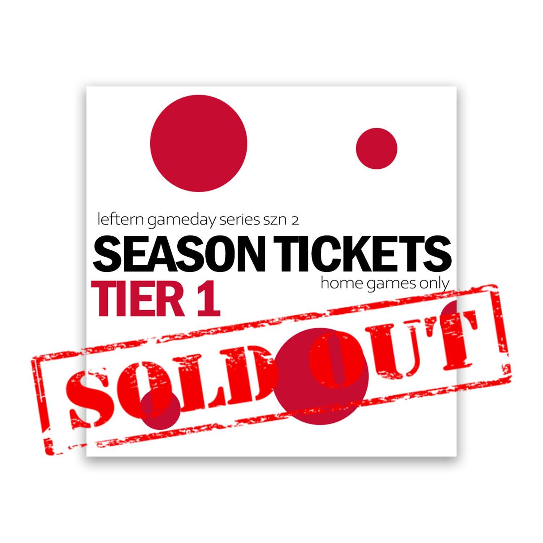 LGS SZN 2 Season Tickets: TIER 1