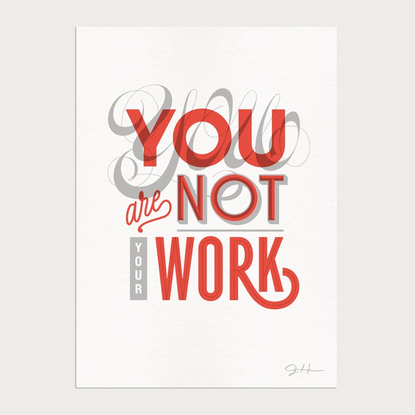 Not Your Work Limited Edition