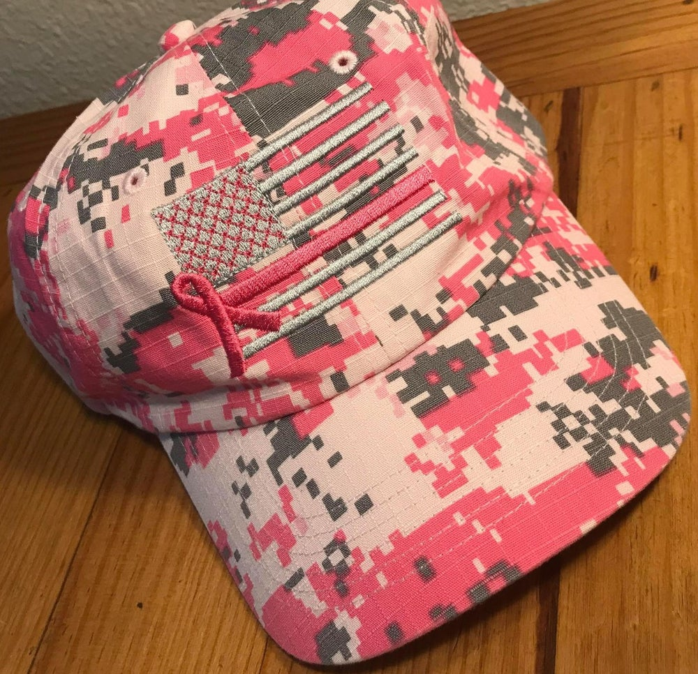 Image of STAY IN THE FIGHT CAMO ATHLETIC HATS