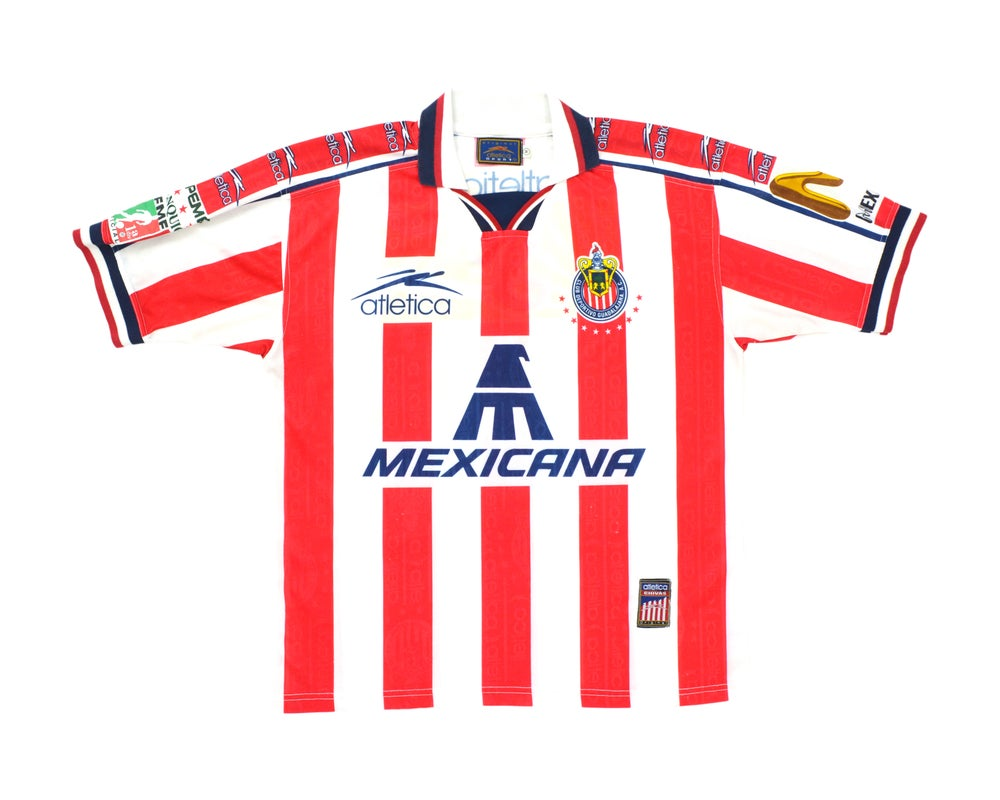 Image of 1997-98 Atletica Chivas Guadalajara Home Shirt M