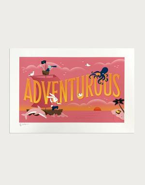 Image of Adventurous Signed Print
