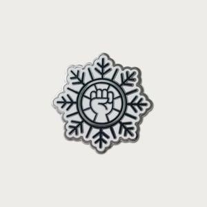 Image of Liberal Snowflake Pin