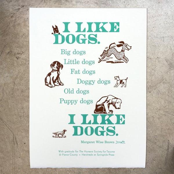 Image of I Like Dogs