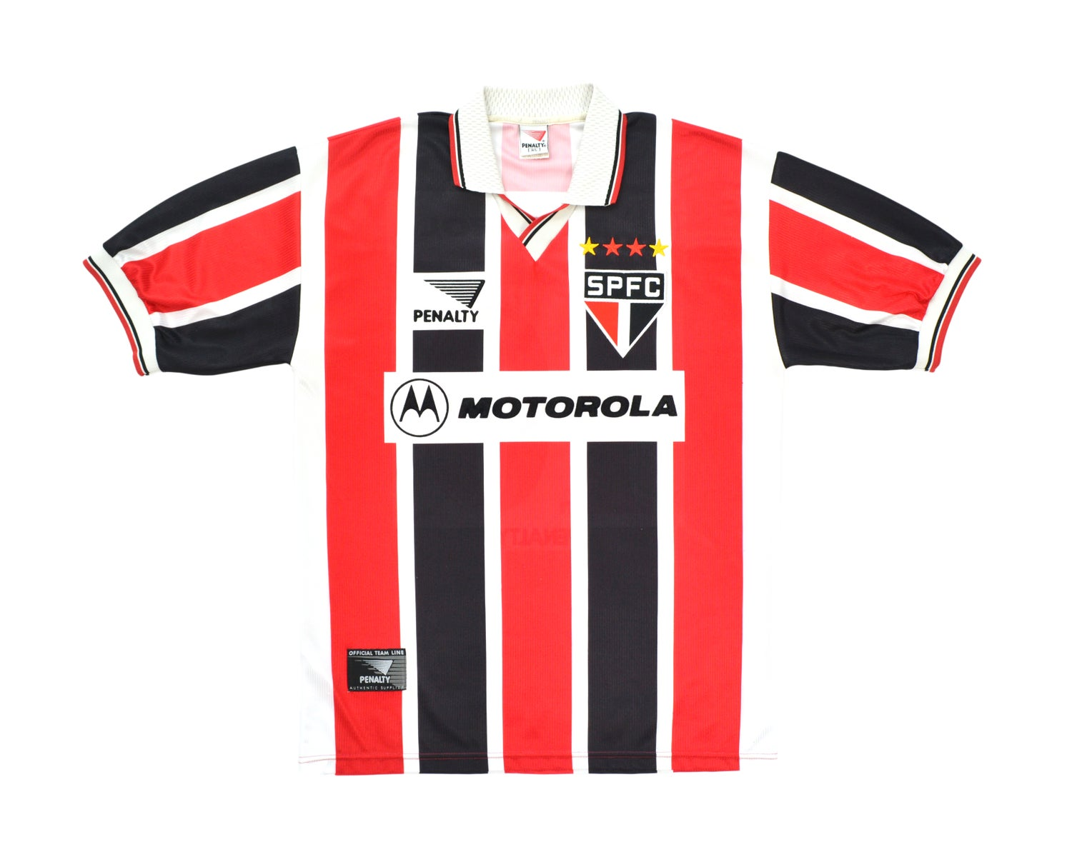 Image of 1998-99 Penalty Sao Paulo Away Shirt '10' L