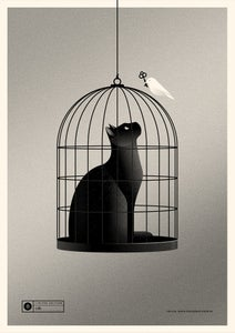 Image of Cat Cage Silver Version