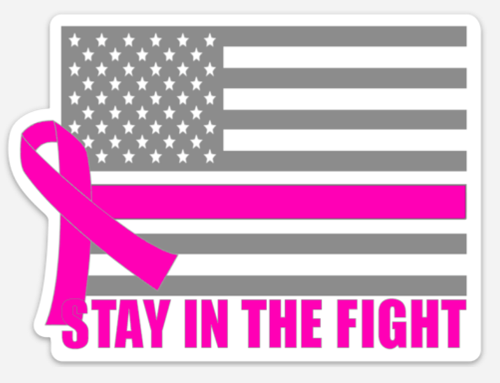 Image of STAY IN THE FIGHT DECALS