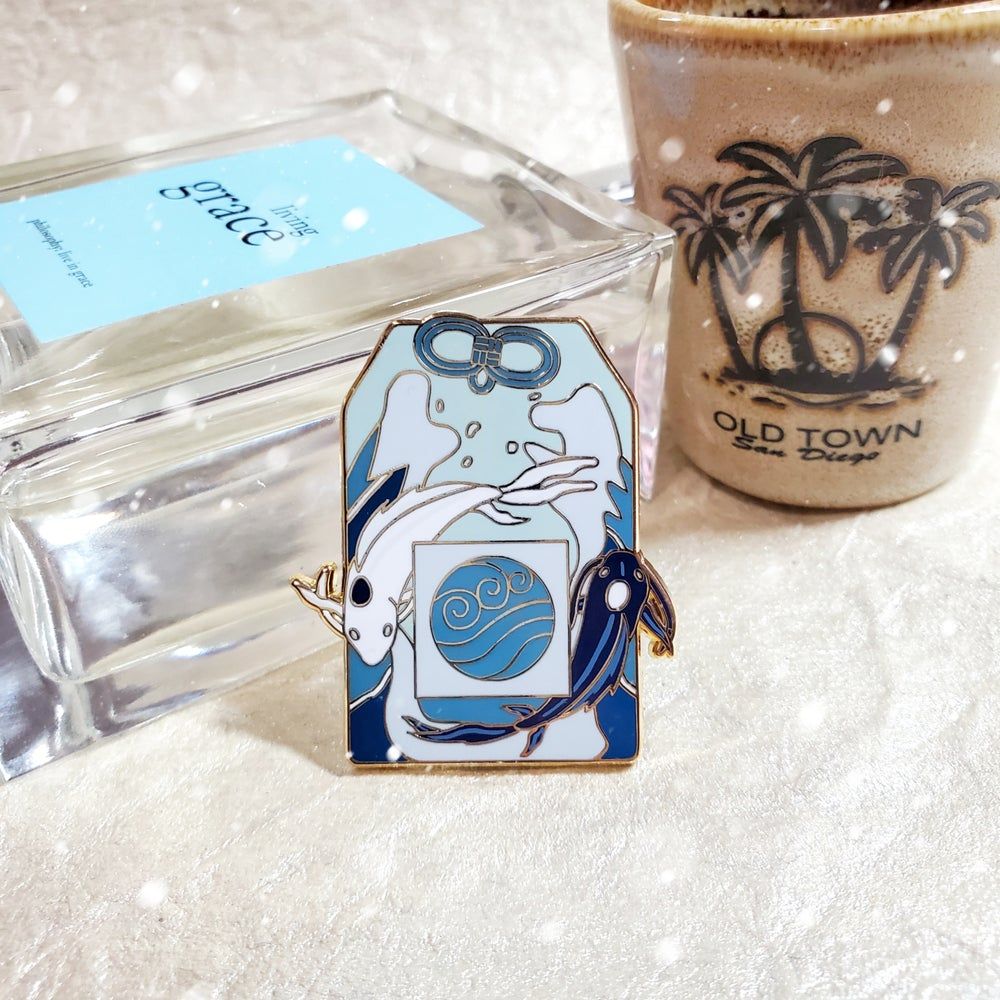 Image of Water Omamori Pin