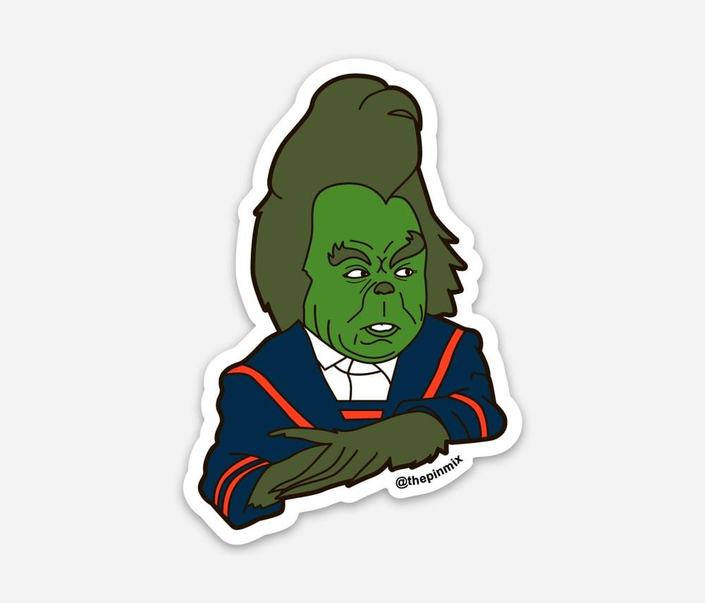 Image of 'Grinch' Sticker