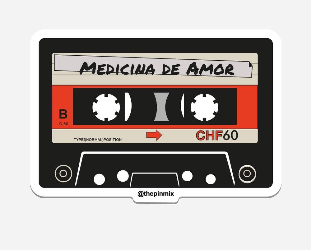 Image of 'Medicina De Amor' Sticker