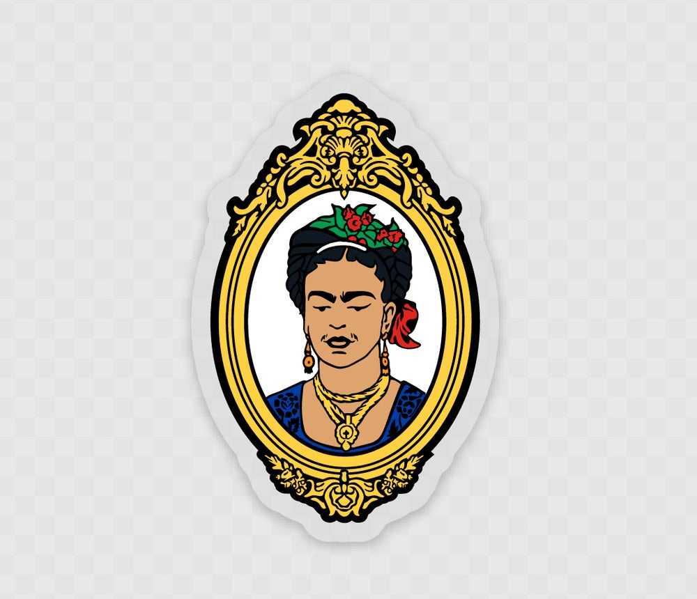Image of 'La Frida' Sticker