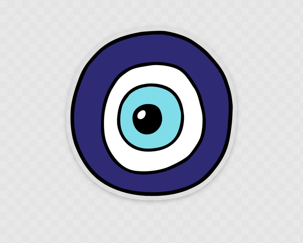 Image of 'Ojo' Sticker