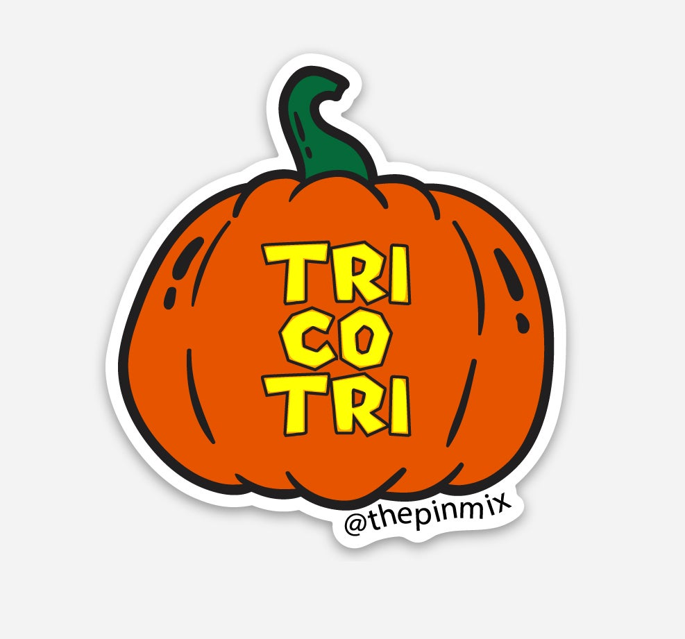 "Image of ""Tri co Tri"" Sticker"
