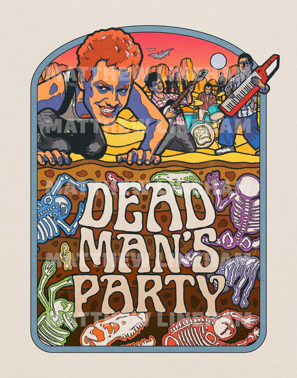 Dead Man's Party Art Print