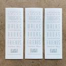 Image 1 of Book Club Bookmark (3-pack)