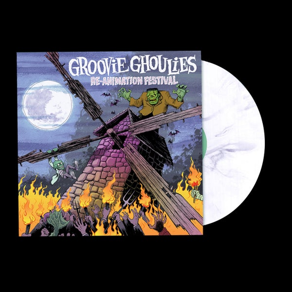 "Image of LP/CD: Groovie Ghoulies ""Re-Animation Festival"""