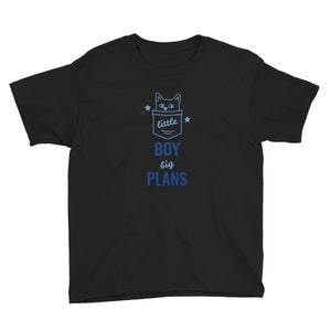Image of Little Ronnie, Big Plans Youth Short Sleeve T-Shirt