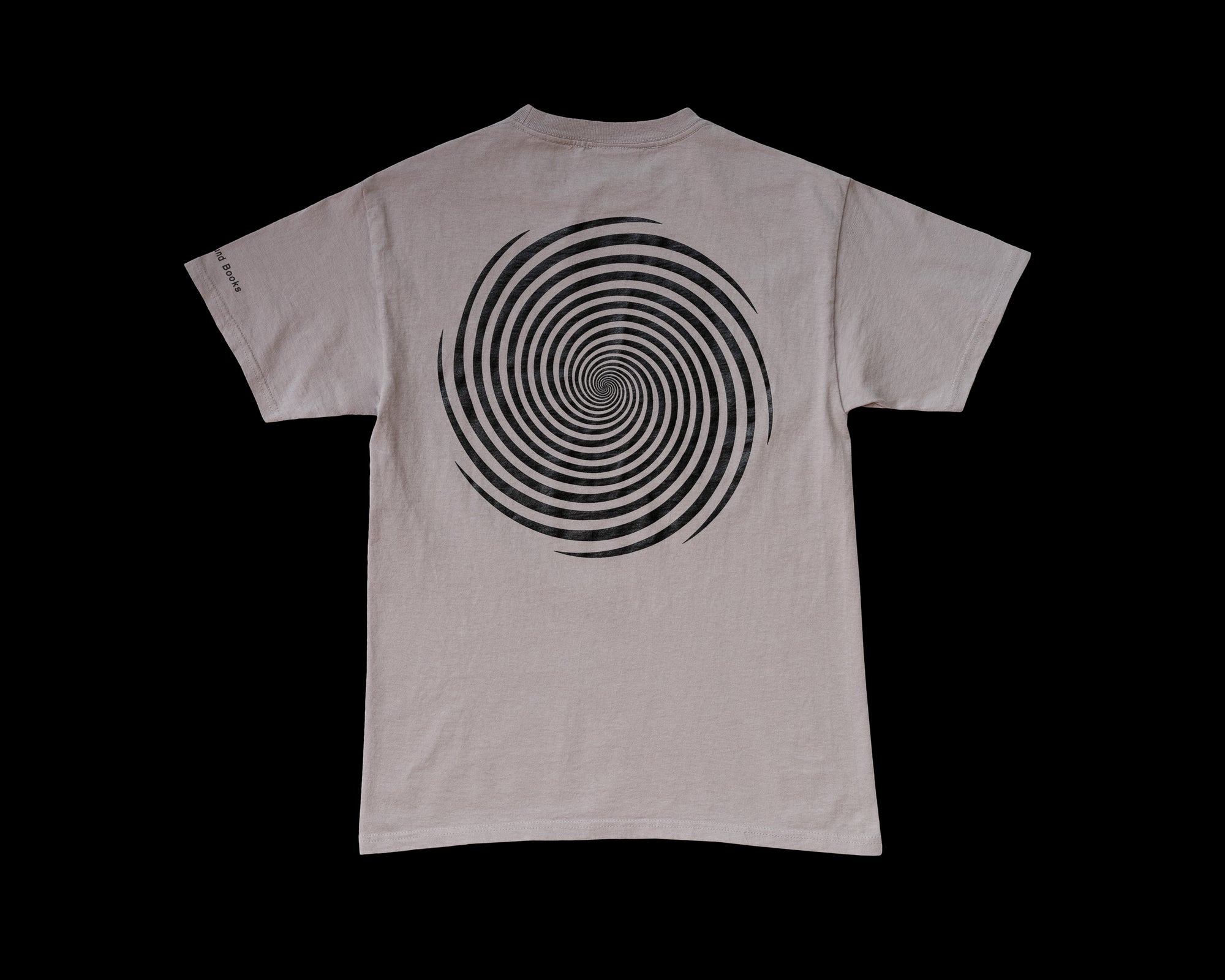 Image of S/S Vortex Tee - Grey / Black