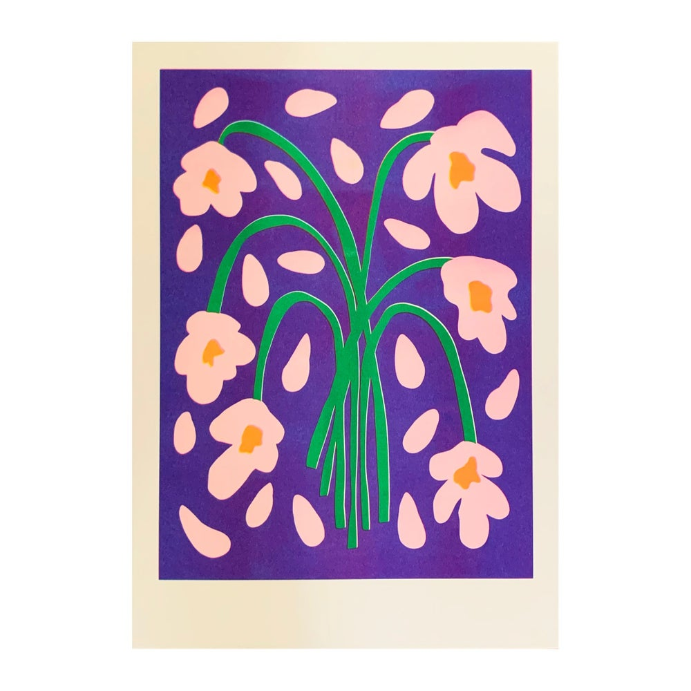 Image of Florally Flaccid Riso Print