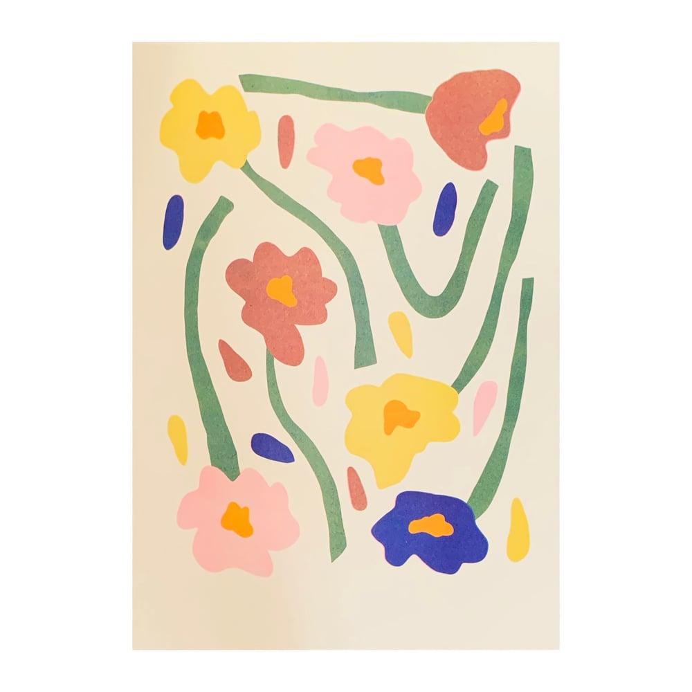 Image of Slim Picking Riso Print