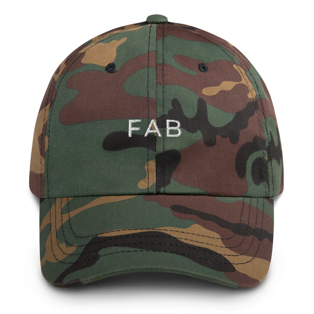 Image of The FAB Boss Babe Hat - Camo