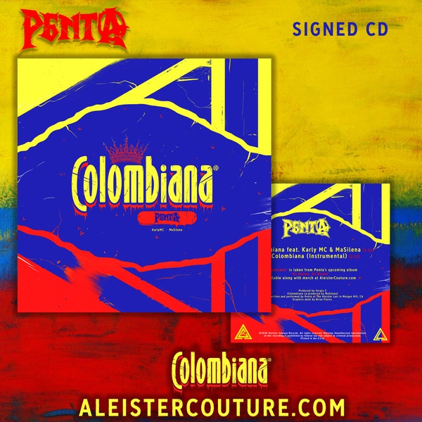 Image of Colombiana - Signed CD