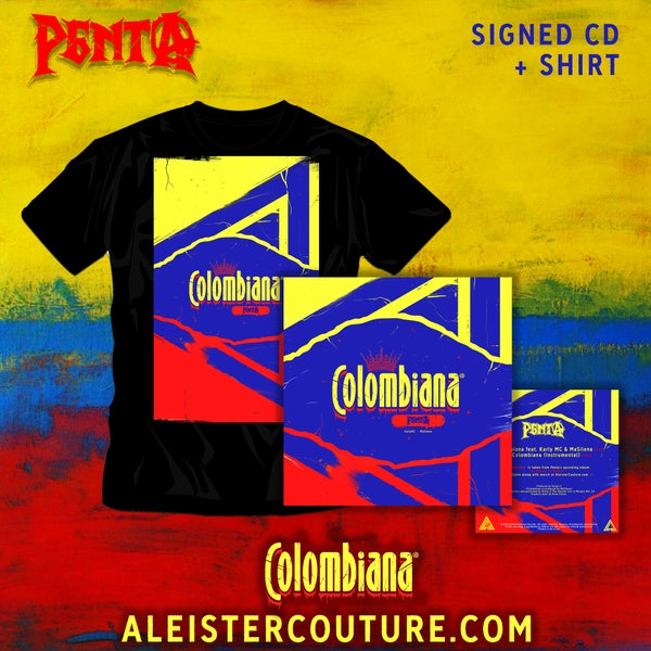 Image of Colombiana - Signed CD + Shirt