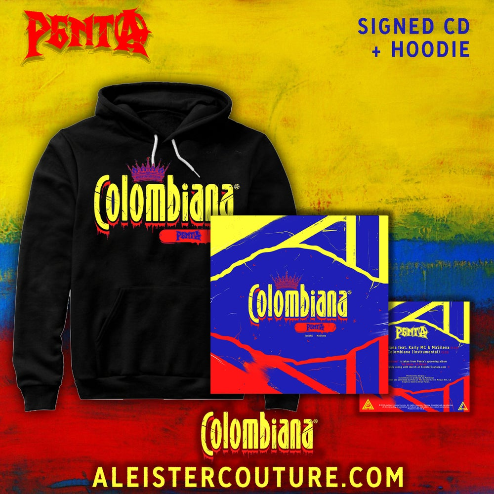 Image of Colombiana - Signed CD + Hoodie