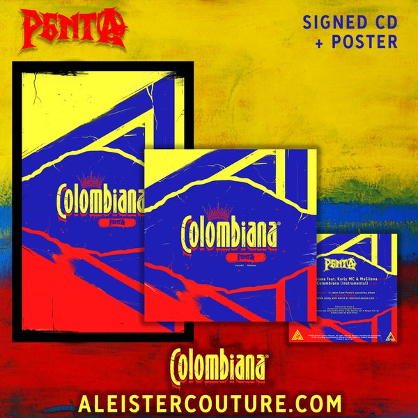 Image of Colombiana - Signed CD + Poster