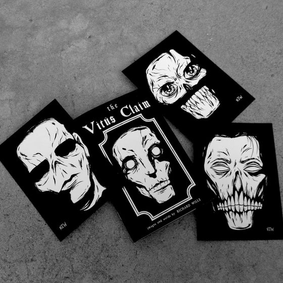 Image of The Vitus Claim book / zine - original art edition