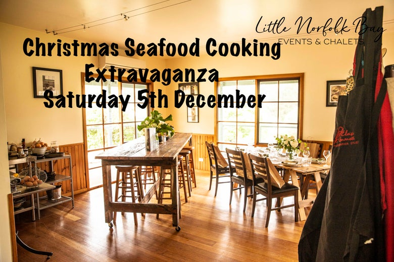 Image of Christmas Seafood Cooking Extravaganza Saturday 5th December